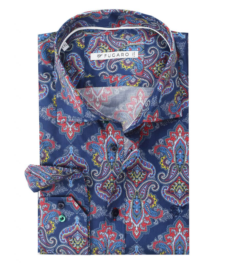Multicoloured printed shirt