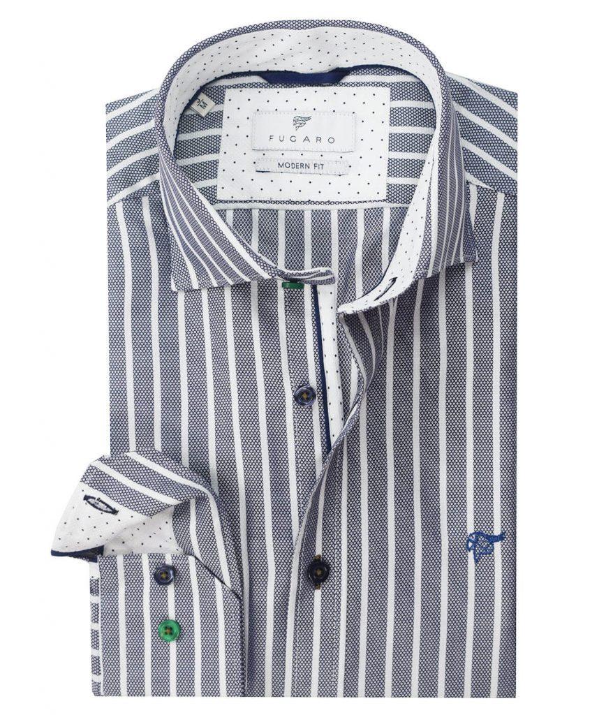 Striped grey shirt
