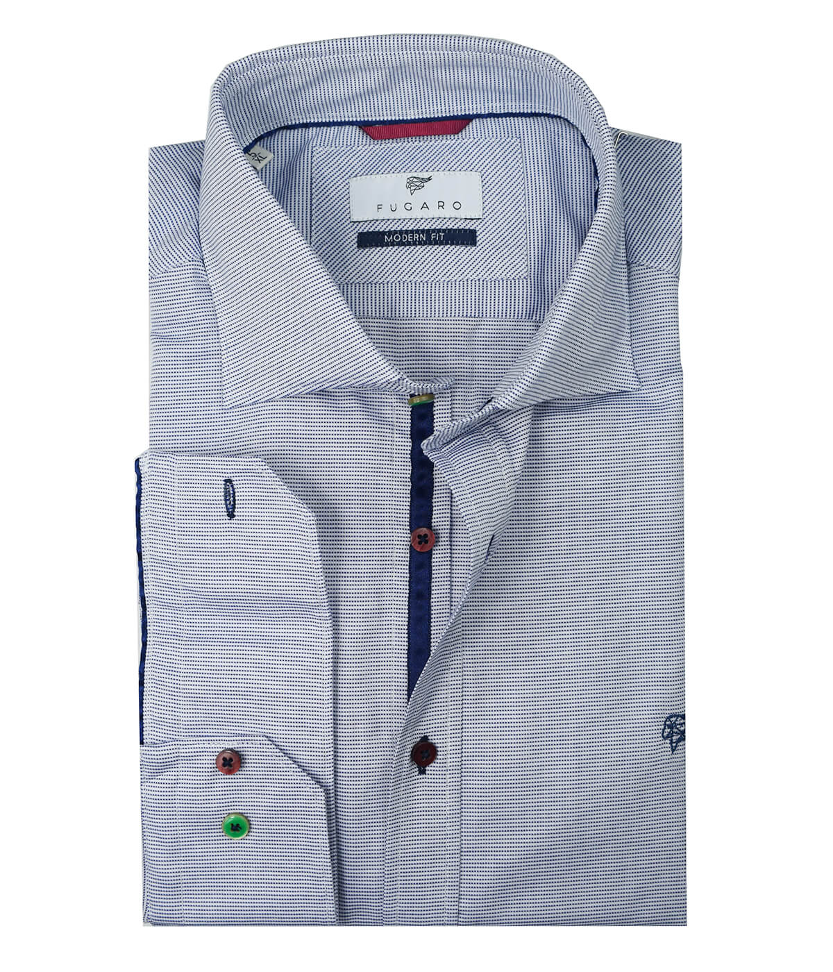 aa7a82e09 Micro print shirt