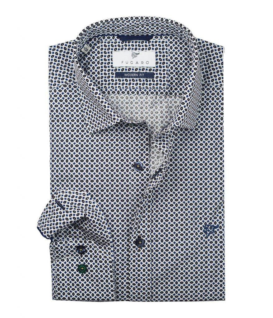 Beige printed shirt
